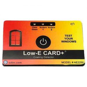 eaTools Low E-card